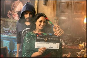 Bhool Bhulaiyaa 2 begins shoot; Kartik Aaryan shares pics