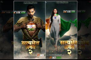 'Satyameva Jayate 2' first look posters starring John Abraham, Divya Khosla Kumar out