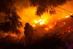 '330 fires across California in 24 hours', says Governor Gavin Newsom
