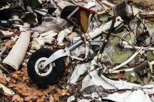 IAF chopper evacuates wreckage of crashed civilian aircraft from Kedarnath