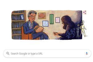 Google doodle celebrates work of American psychiatrist Dr. Herbert Kleber