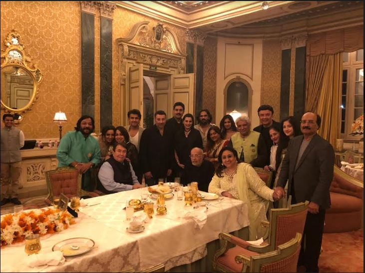 JP Dutta, Nidhi Dutta, Bindiya Goswami, Abhishek Bachchan, Suneil Shetty and Mana Shetty, Sunny Deol, Randhir Kapoor, Roopkumar, Sonali Rathod, Sonu Nigam, Javed Akhtar
