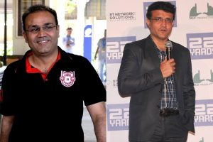 After Laxman, Sehwag calls Ganguly's appointment 'great signs for Indian cricket'