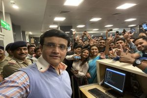 'Love of people', Sourav Ganguly's airport selfie with fans ruling internet