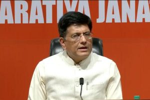 Mass movement needed against those stopping development in country: Piyush Goyal