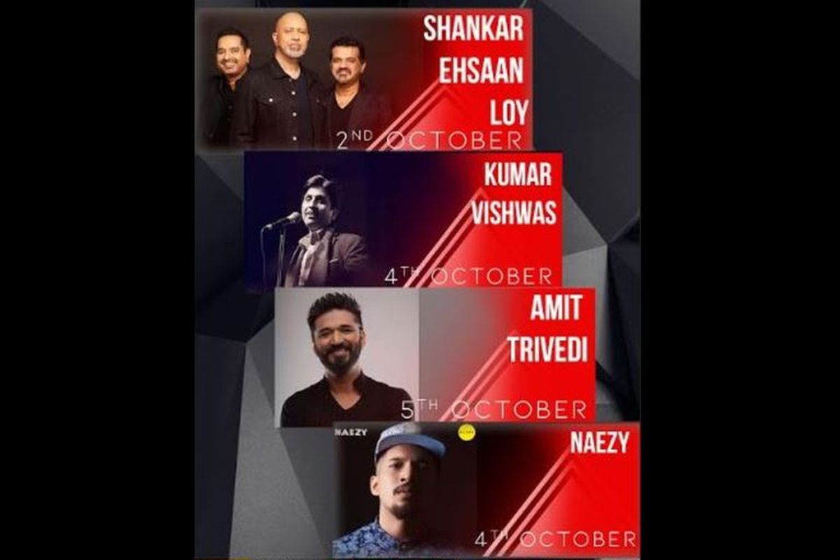 IIT Delhi's Rendezvous festival kicks-off with Shankar Ehsaan Loy concert