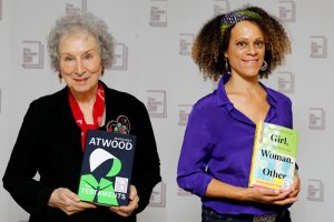 Booker Prize 2019 shared by Margaret Atwood and Bernardine Evaristo