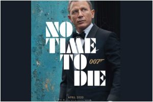 No Time To Die:  25th James Bond film's first look poster unveiled