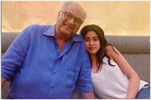 Janhvi Kapoor teams up with father Boney Kapoor for upcoming film Bombay Girl