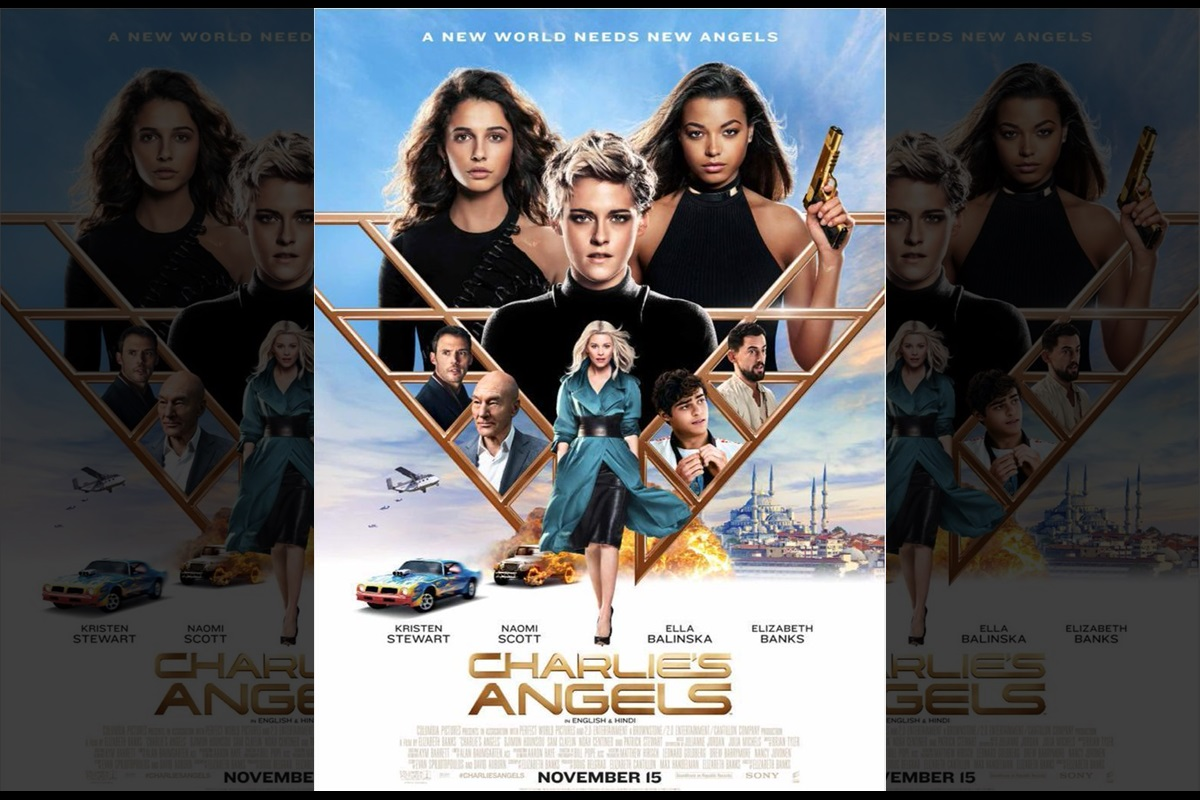 Kristen Stewart's upcoming film 'Charlie's Angels' to release on November 15