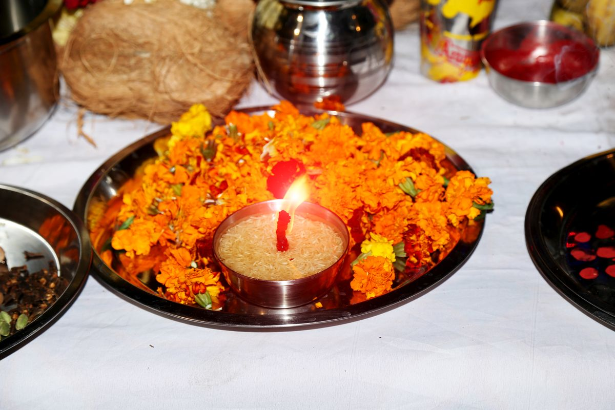 Kanjak Prasad , prasad recipe, Navratri, Goddess Durga, Ashtami, Navami, Hindu tradition, method, preparation