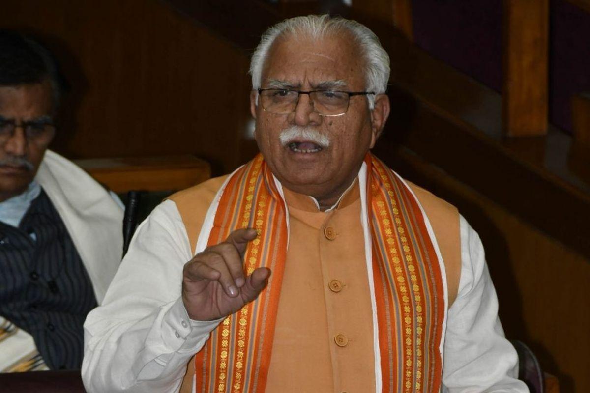 Manohar Lal Khattar seeks Centre to convene a meeting of CMs