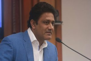 'Let's get spinners back in the game in a Test match,' says Anil Kumble after ban on saliva