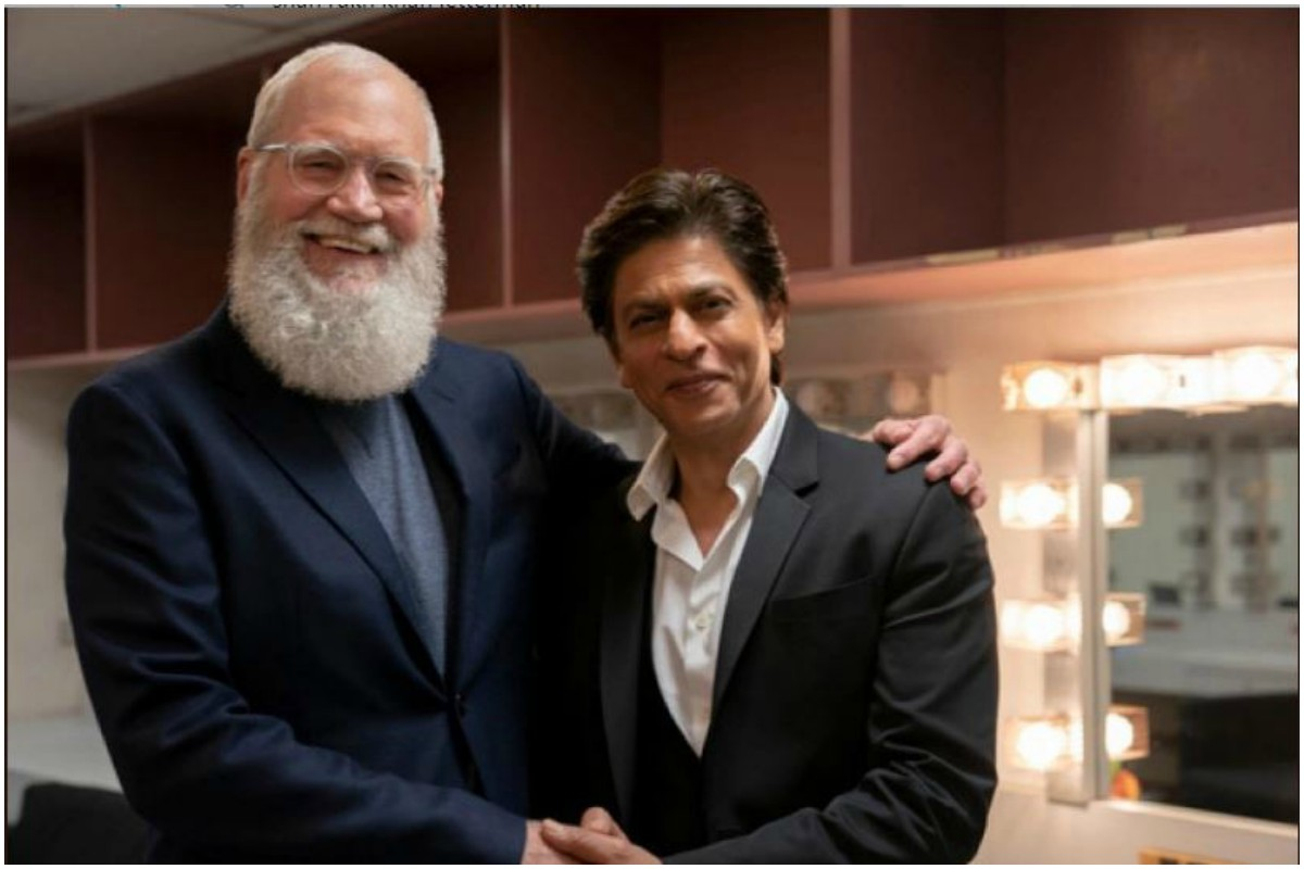 David Letterman, Shah Rukh Khan, My Next Guest With David Letterman, Netflix, Deewana, Padma Shri