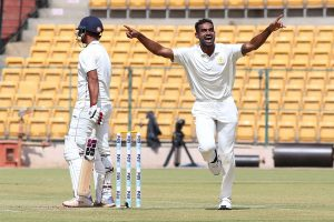 Birthday boy Abhimanyu Mithun becomes first Karnataka cricketer to take hat-trick in Vijay Hazare