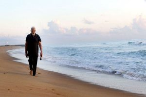 India-China summit: PM Modi starts off Day 2 with plogging on Mahabalipuram beach