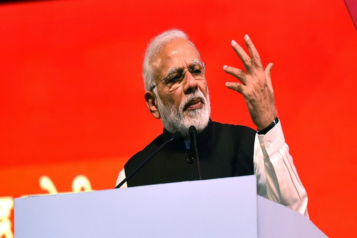 PM dares Opposition to bring back Article 370 at election rally in Jalgaon
