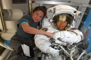 NASA all women spacewalk makes history: 'One giant leap for Womankind'