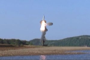 N Korea test-fires new missile from submarine