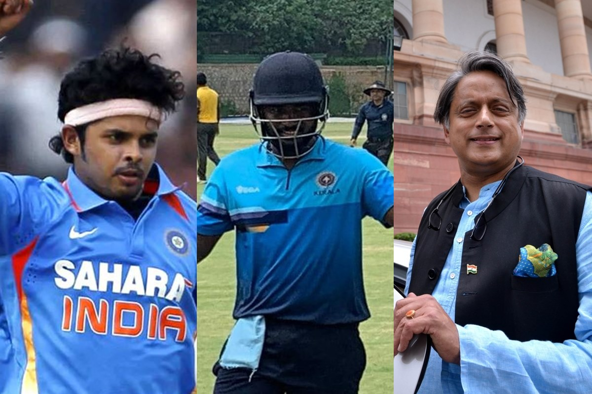 'He is an Indian', Sreesanth 'reminds' Shashi Tharoor of Sanju Samson's identity
