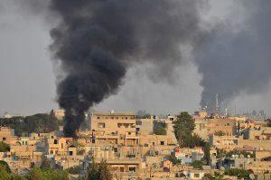 Turkey denies attacking US troops in northeastern Syria