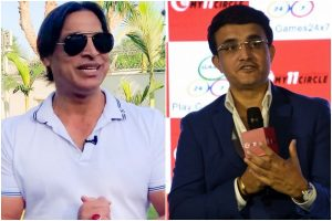Akhtar heaps praise on Ganguly, says Dada taught India to beat Pakistan