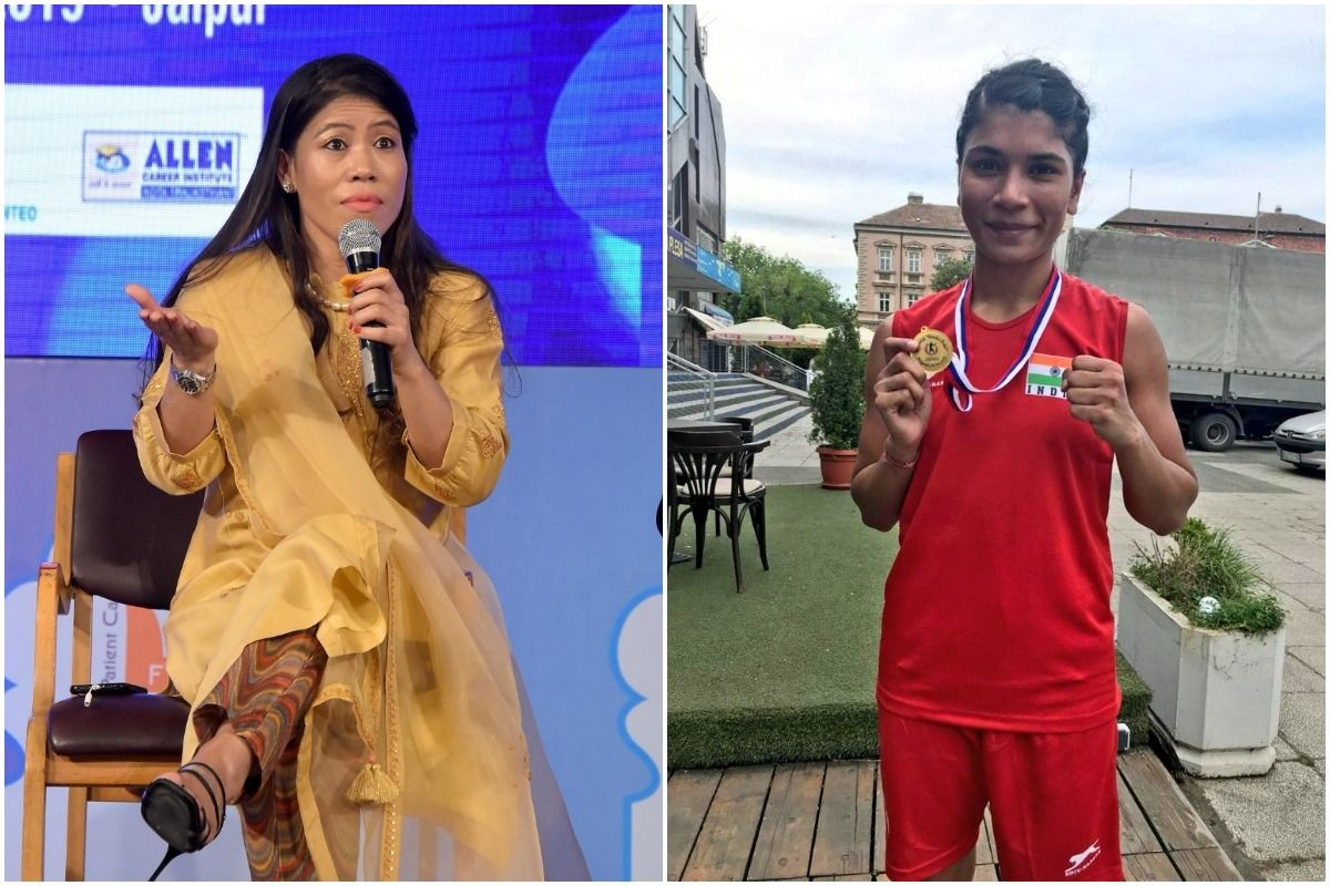Nikhat Zareen, Mary Kom, Tokyo Olympics 2020, Nikhat Zareen vs Mary Kom, Mary Kom Olympic qualifiers, Mary Kom Tokyo Olympics 2020