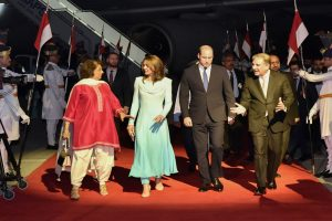 Royal couple Prince William, wife Kate arrive on five-day visit to Pakistan