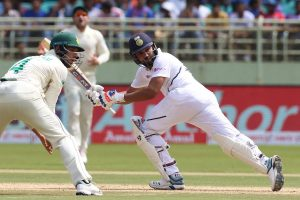 India vs South Africa 1st Test Lunch: Rohit Sharma scores half-century, India 91/0