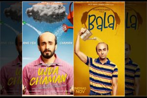 Ayushmann Khurrana starrer 'Bala' to face off with Sunny Singh's 'Ujda Chaman' at box office