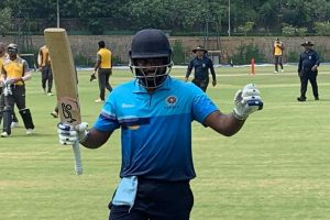 Kerala cricketer Sanju Samson smashes highest score by keeper-batsman in history of List A cricket