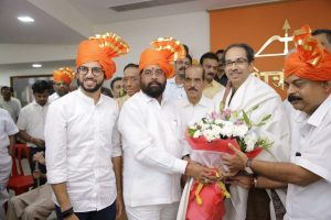 Eknath Shinde, backed by Aaditya Thackeray, elected as Shiv Sena house leader