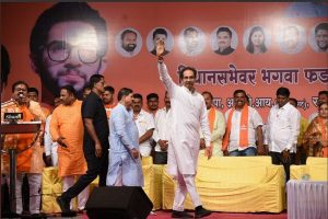 'He's more in forest': Uddhav Thackeray after younger son Tejas attends rally