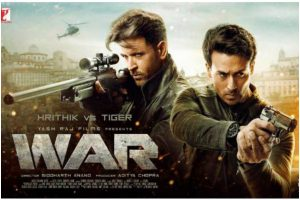 War movie review: Hrithik Roshan shines as immortal guru while Tiger Shroff plays innocent disciple to T