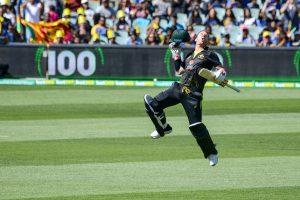 David Warner scores maiden T20I century as Australia post massive 233 against Sri Lanka