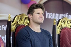 Illicit picture appears on Shane Watson's Instagram pofile after getting hacked
