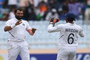Wriddhiman Saha, Mohammed Shami key in India's preparation for pink-ball day-night Test