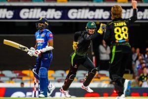 Australia opt to bowl against Sri Lanka in last T20I