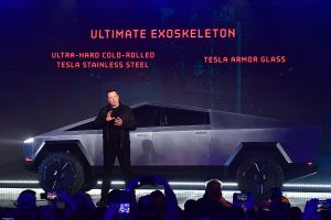 Tesla Cybertruck: Elon Musk unveils bulletproof electric truck