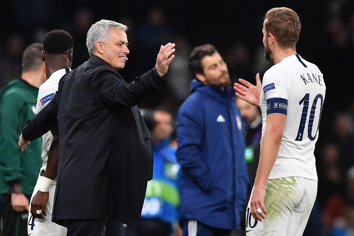 Jose Mourinho, Tottenham skipper, Harry Kane,