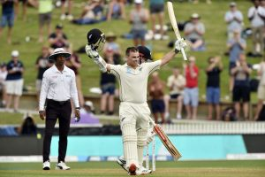Tom Latham's ton takes New Zealand to 173/3 on rain-curtailed day