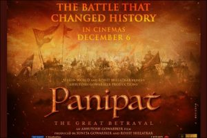 First look poster of Arjun Kapoor, Kriti Sanon starrer Panipat out!