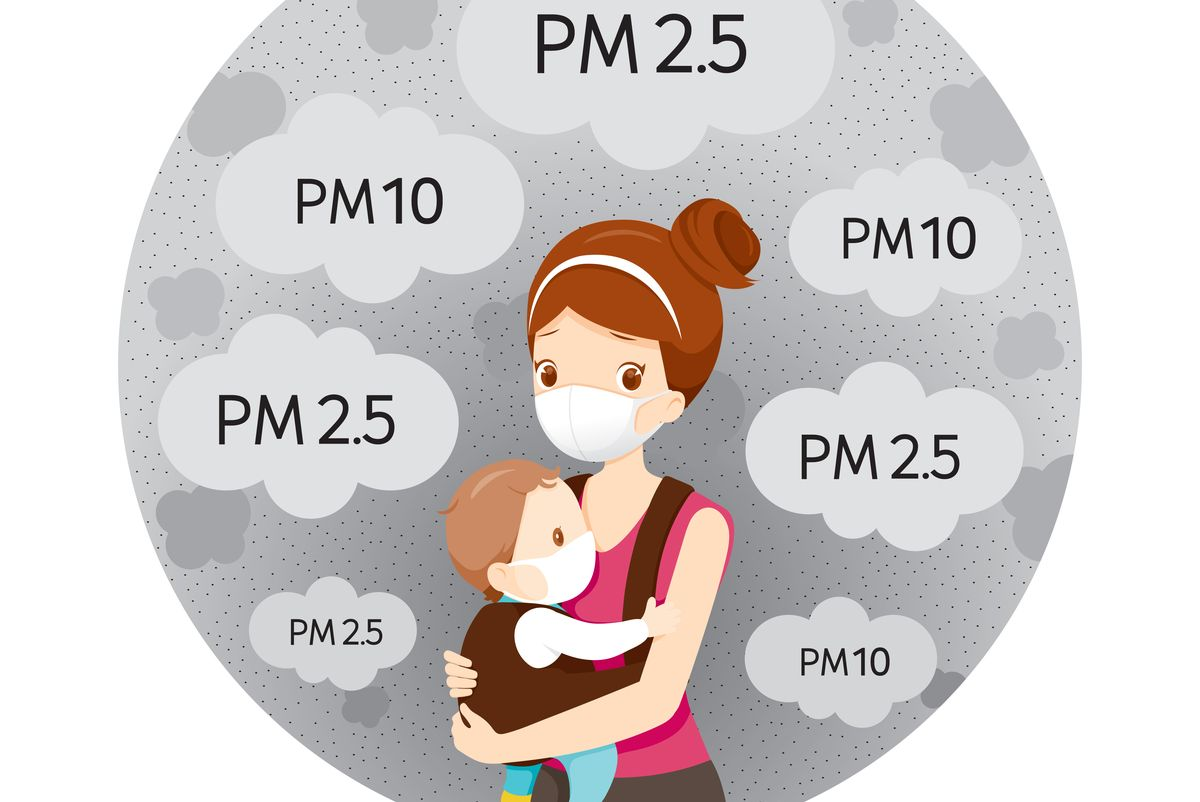 Sail through air pollution with these tips for your baby