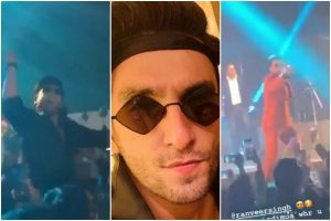 Ranveer Singh performs at Delhi wedding; videos go viral