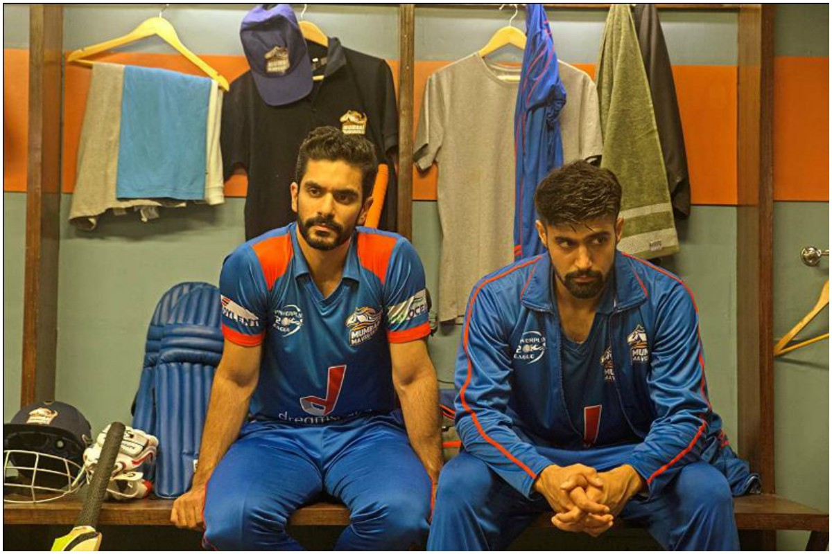 Angad Bedi coached by his father Bishan Singh Bedi for Inside Edge 2