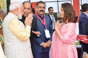 Honoured to share stage with PM Modi: Yami Gautam