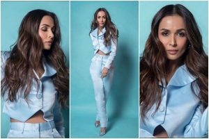 Malaika Arora Khan in pastel blue pant-suit sets winter goals for all