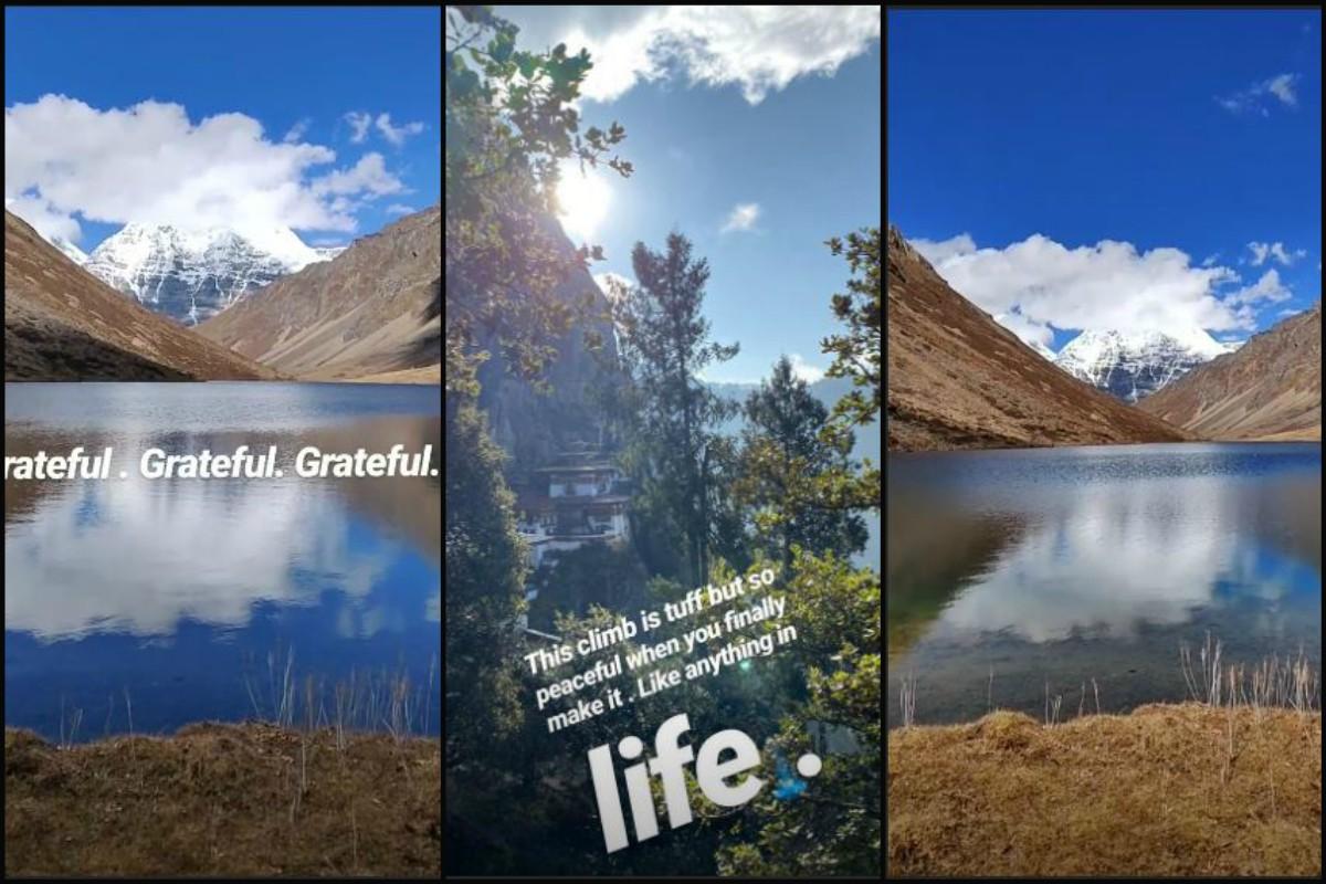 'God is the greatest artist,' Anushka Sharma records in Bhutan