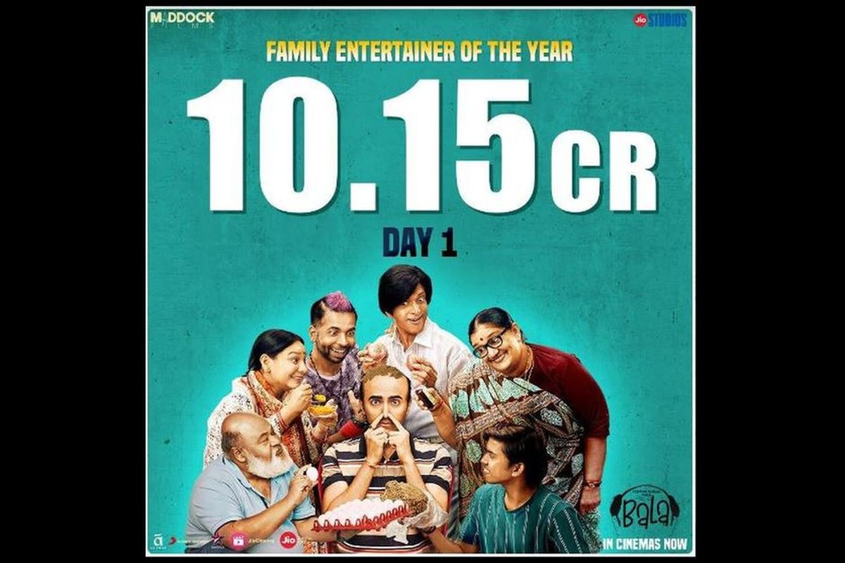 Dream Girl, Ayushmann Khurrana, Bala, Taran Adarsh, box office, Badhaai Ho, Amar Kaushik, Bhumi Pednekar, Yami Gautam