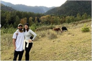 Anushka Sharma celebrates Virat Kohli's 31st birthday in Bhutan